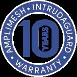 Amplimesh® Intrudaguard® security screen doors and windows - 10 years warranty