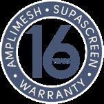 Amplimesh® SupaScreen® security screen doors and windows - 16 years warranty