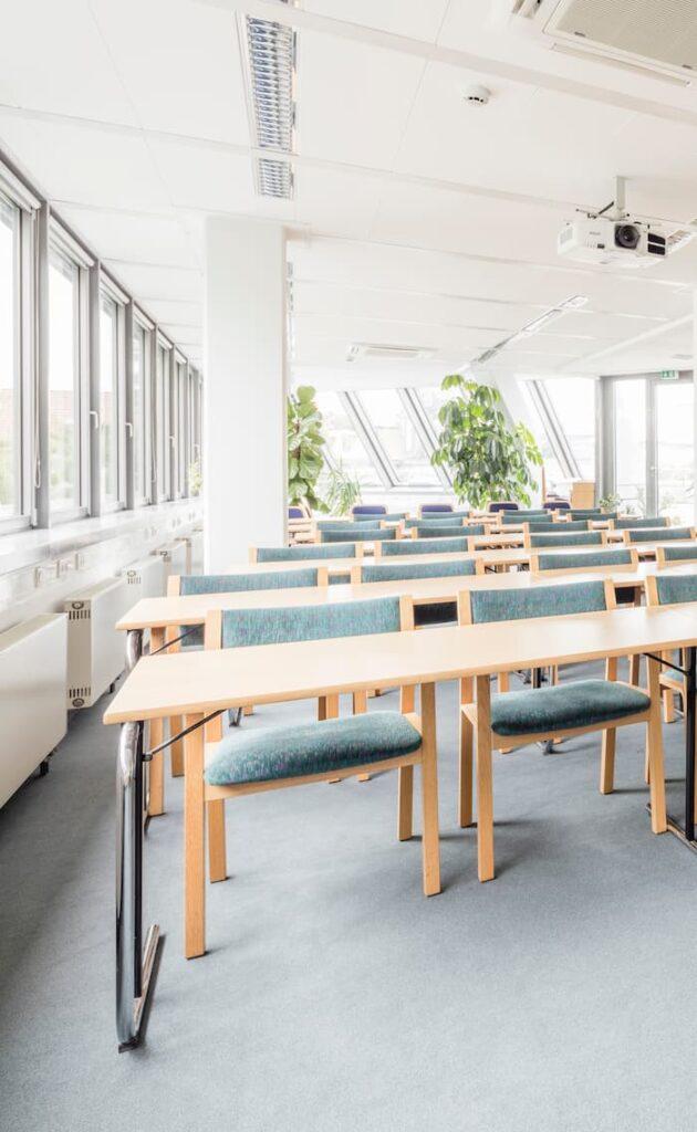 Classroom blinds