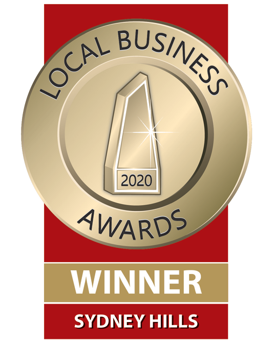 Bosetti Blinds - Local Business Awards Winner 2020 - Sydney Hills