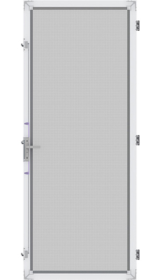 Amplimesh® SupaScreen® security screen doors - Technical specification